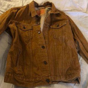 Levi copper denim jacket